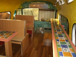 El Chato Unfinshed Dining area